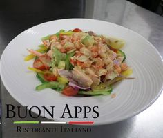 Buon Apps - Otley, Leeds: Smoked oak salmon and crayfish