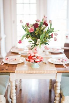 Girly Table Decoration