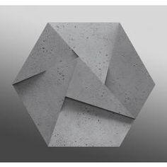 ZARIA GRAY ROCK 3D PANEL ŚCIENNY 60X52  z kolekcji ZARIA