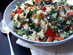 THE SIMPLE VEGANISTA: Kale & Quinoa Salad