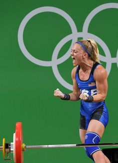 Best of Day 1 - Morghan King of the US competes in the women's weightlifting competition during the Rio 2016 Olympic Games at the Riocentro Pavilion on August Best Weight Loss, Weight Lifting, Weight Loss Tips, College Workout, College Fitness, Fitness Motivation, Fitness Tips, Female Athletes, Women Athletes
