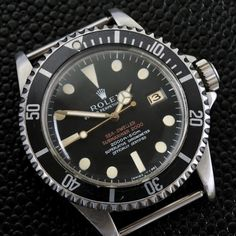 """Very important Rolex SeaDweller """"double red"""" ref 1665 """"Patent pending"""""""