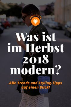 Was ist im Herbst 2018 modern? - Who is Mocca? - Fashion Trends, Outfits, Interior Inspiration, Beauty Tipps und Karriere Guides - Pin To Travel Fall Fashion Colors, Autumn Fashion 2018, Colorful Fashion, Winter Trends, Fashion Trends 2018, Fashion Tips, Fashion Websites, Women's Fashion, Style Blog