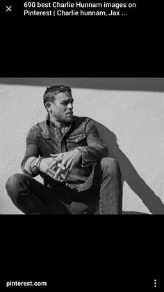 Charlie Hunnam most beautiful man ever