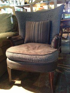 Vintage Wool Chair
