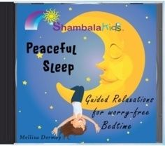 Peaceful Sleep for Kids CD - no more worry, no more anxiety. $14.95 CD or download available too. Help for nighttime fears for kids.