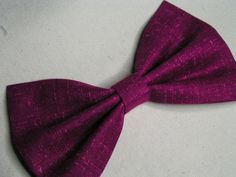 Purple mixed with pink hair bow for kids or adults, Fabric Hair Bows, Hair Bows for teens, $3.79