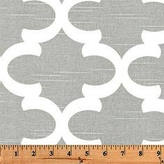 """Fabric Shower Curtain - FYNN ASH - 72"""" Width x (72"""", 74"""", 78"""", 84"""", 90"""", 96"""") Length"""