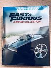 Fast and Furious: 8-Movie Collection (Blu-ray Disc 2017 9-Disc Set) New!