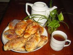 jidáše recept maminčiny recepty Home Baking, Biscuit Cookies, Easter Recipes, Biscuits, French Toast, Muffins, Food And Drink, Breakfast, Sweet