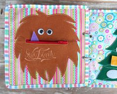 Selection of Pocket Pages Quiet Book Activity