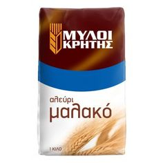 Soft flour from Crete  Soft flour made of selected wheat grains from the Cretan land. It is mainly used in confectionery and cooking as well.