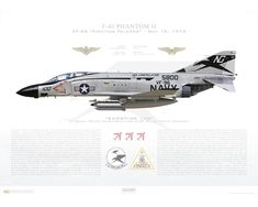 Air Fighter, Fighter Jets, F4 Phantom, Military Weapons, Aviation Art, Paint Schemes, Aircraft Carrier, Falcons, American History