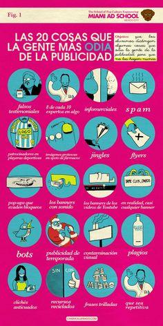 Las 20 cosas más odiadas de la publicidad - cinismoilustrado.com