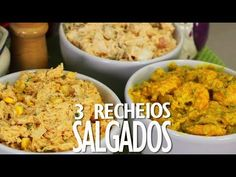 YouTube Empanadas, Pasta, Coffee Break, Relleno, Cinnamon Rolls, Finger Foods, Carne, Mashed Potatoes, Catering