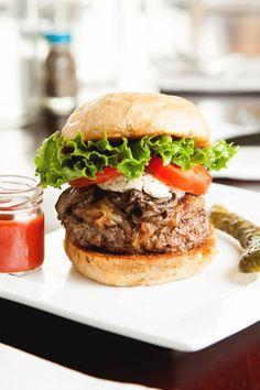 El popular burger.