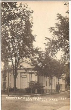 HAYDENVILLE, MA - RPPC - Congregational Church