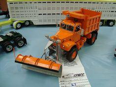 Snowplow Truck Model.