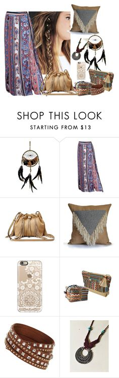 """""""boho"""" by rockabillygypsy ❤ liked on Polyvore featuring Diane Von Furstenberg and Casetify"""