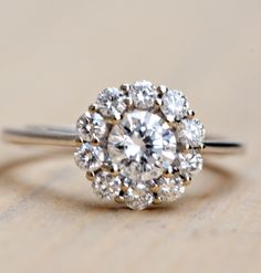 Wilson Diamonds: Ring Style Number R5488E #roundhalo