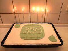 Pâtisserie Nadine: Bits und So 350 - Club-Mate Kuchen mit Apple inside!