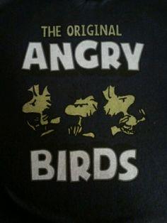The original Angry bird