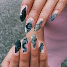 Fancy Nails, Love Nails, My Nails, How To Do Nails, Minimalist Nails, Nail Photos, Artificial Nails, Stylish Nails, Fabulous Nails