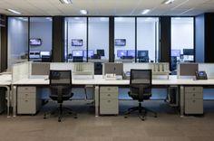 Open call center seating - Nine Entertainment Co
