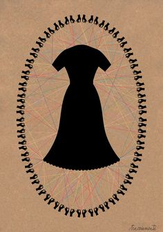 The Working Proof: tracciamenti: Dress #30