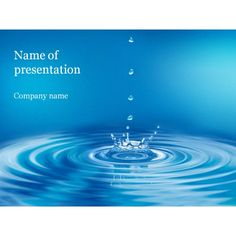 PowerPoint background themes | Clear Water PowerPoint Template For Your Presentation
