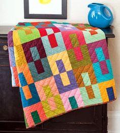 "Tweety-Bee Stitches: October Nurture Circle Block - ""Color Study"""