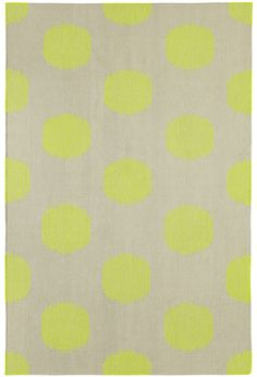 NY Dot Rug in Day Glow  | By Genevieve Gorder for Capel Rugs, America's Rug Company