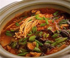 Korean Kim Chi Soup Recipe - Kim Chi Jjigae - Jeanette's Healthy Living