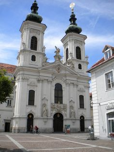 Mariahilf Church, Graz, Austria   http://www.travelandtransitions.com/austria-travel/