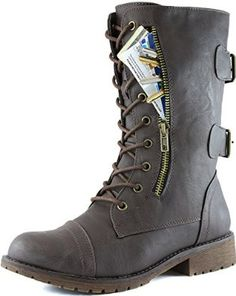Boot with Pockets! #MustHave! I want black and tan!