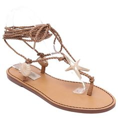 Bohemian Women's Sandals With Asymmetrical and Lace-Up Design