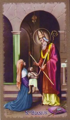 Novena de Sao Brás Oração para todos os dias Ó bem-aventurado São Brás, que recebeste de Deus o poder de proteger os homens contr...