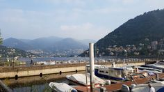 Lake Como Harbor, Italy October