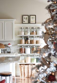 Gorgeous Christmas Kitchen