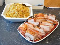 Baked Pork, Pork Belly, Dinner Ideas, Dinners, Chicken, Meat, Baking, Blog, Recipes