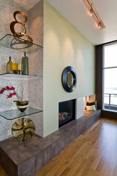 The Benefits Using Wall Glass Shelves