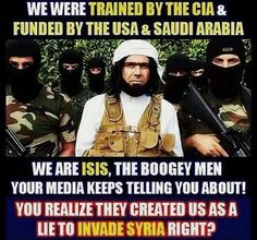 ISIS Funded By U.s