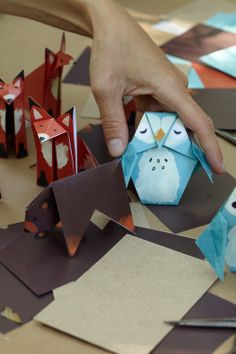 My Owl Barn: Woodland Creatures Baby Shower by Huggies + Printables