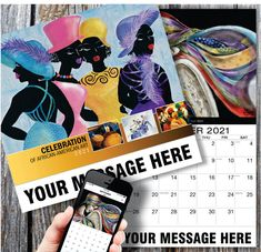 2021 African American Art wall calendars low as Your Business or Event Name, Logo & Ad Message in the homes and offices of people in your area every day! African American Artist, African American History, American Artists, Calendar App, Print Calendar, Promotional Calendars, Wall Calendars, App Store, 9 And 10