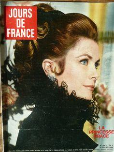 Magazine, Jours de France, N° 698, mars 1968, La princesse Grace