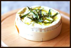 Rosemary Olive oil baked Brie