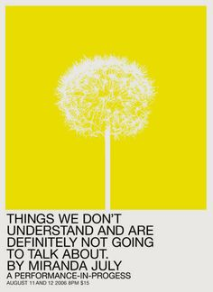 mike mills/ miranda july: things we don't understant and are definitely not going to talk about