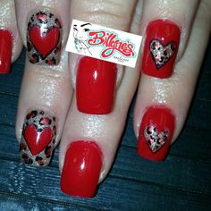 Valentine's day nails.  please visit http://billynesnailstudio.com/