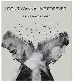 I don't wanna live forever - Taylor Swift & Zayn