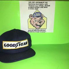 6d8c15085f4 Cool Goodyear Tires Hipster Snapback Hat - Mercari  Anyone can buy   sell  Goodyear Tires